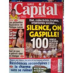 CAPITAL silence on gaspille