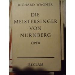Wagner Les Maitres chanteurs