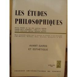 LES ETUDES PHILOSOPHIQUES